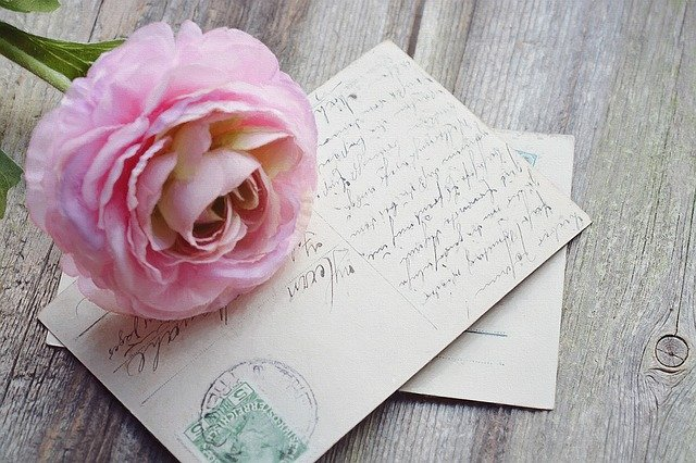 Kaartjes schrijven